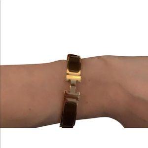 Hermès Noir Fo Pm H bracelet